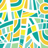 Abstract background design in green and yellow Royalty Free Stock Images