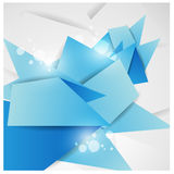 Abstract background design -  illustration Stock Image