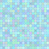 Abstract background for design. Abstract mosaic background of colored squares with rounded corners for design. blue pastel range. Vector Royalty Free Stock Photo