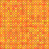 Abstract background for design. Abstract mosaic background of colored squares with rounded corners for design. orange gamma. Vector Royalty Free Stock Images