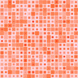 Abstract background for design. Abstract mosaic background of colored squares with rounded corners for design. pink-red gamma. Vector Stock Image
