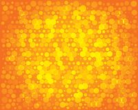 Abstract background for design. Orange pattern. Abstract background for design. Orange geometric circles pattern for your text. Vector illustration Royalty Free Stock Photo
