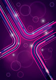 Abstract Background Design. A pink and purple abstract background design with lines Stock Illustration