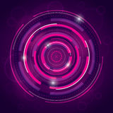 Abstract Background Design. A pink and purple abstract background design with a technical theme Royalty Free Illustration