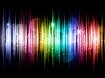 Abstract background. Abstract design background with sparkles and stars Royalty Free Stock Photo