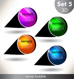 Abstract background. Design template. Can be used banners, graphic or website layout Stock Photos