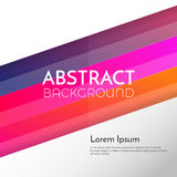 Abstract background Design Template. Vector Illustration royalty free illustration