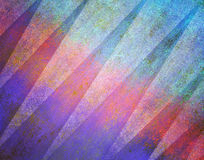 Abstract background design with triangle shapes and texture in purple blue and pink. Abstract background design with triangle layers on colorful blue pink yellow Stock Photography