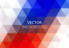 Abstract background design, vector elements for graphic template. Colourful red blue elements for branding. Abstract background design, polygonal vector elements Royalty Free Stock Photos