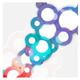 Abstract background for design - vector illustration Stock Photography