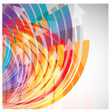 Abstract background for design - vector illustration Stock Photo