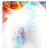 Abstract background design - vector illustration Stock Photography