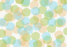 Abstract Background Design, watercolor circle paint, texture Stock Photography