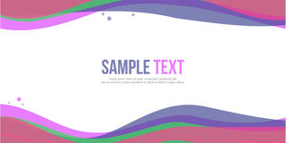 Abstract background design website header style. Vector art stock illustration