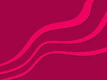 Abstract background with diagonal pink waves on vinous Stock Image