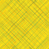 Abstract background. Diagonal random lines. Bright colors. Seamless. Abstract seamless pattern. Yellow background. Plaid Fabric texture. Diagonal random lines stock illustration