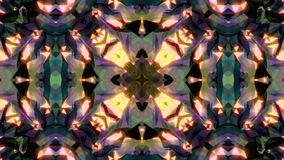 Abstract background with diamond kaleidoscope. 3d rendering Stock Image