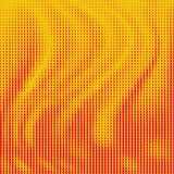 Abstract background with diamond shape gradient. Abstract background with red diamond shape gradient on yellow stock illustration