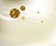 Abstract background with diamonds Royalty Free Stock Images