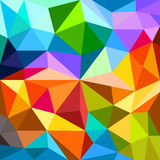 Abstract background of different color figures. Template for a text royalty free illustration