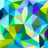 Abstract background of different color figures Royalty Free Stock Images