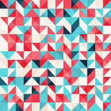 Abstract Background. With different colored triangles vector illustration
