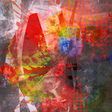 Abstract background. In different colors, textures and pattern stock illustration