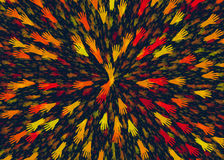 Abstract background from different open hands Royalty Free Stock Images