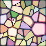 Vector abstract background. Abstract background from different shapes like stone texture. EPS 10 vector illustration. Used transparency layers of pieces elements Stock Images