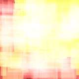 Abstract background from different squares. Shades of yellow. Bright colors vector illustration