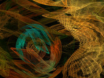 Abstract background. Digital collage. Royalty Free Stock Images