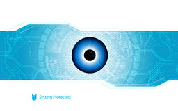 Abstract background digital sci fi digital tech innovation concept Stock Image