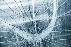 Abstract background with dirty broken glass Royalty Free Stock Images
