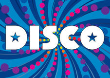 Abstract background - Disco_01 Stock Photo