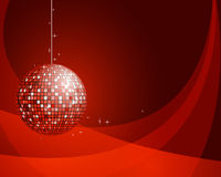 Abstract background with disco ball. Vector illustration Royalty Free Illustration