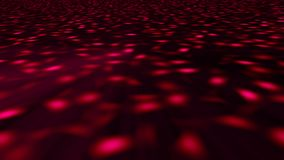 Abstract background with disco floor. 3d rendering.  Stock Illustration