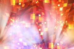 Abstract background - disco madness. Abstract colorful background representing disco madness Royalty Free Stock Images