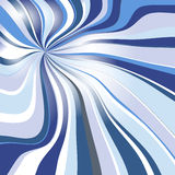 Abstract background with dispersing waves. Vector illustration royalty free illustration