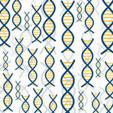 abstract background dna 库存例证