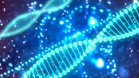 Abstract Background with DNA. Abstract Background with nice DNA Royalty Free Stock Images