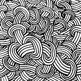 Abstract background with doodle style, zen tangle for you design. Or adult coloring book Royalty Free Stock Images