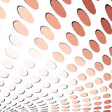 Abstract background with dots Stock Photo