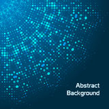 Abstract background with dots. Concept Stock Image