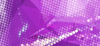 Abstract background for banners, texture, flyer, layout, postcard. Abstract background with dots. Horizontal banner, texture, flyer, layout, postcard. Vector Stock Images