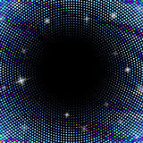 Abstract background with dotted circles Royalty Free Stock Photography