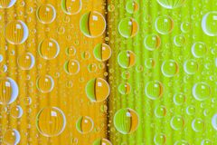 The abstract background with drops. Color abstract background with rain drops stock illustration