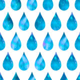 Abstract background drops of water. Stock Photos