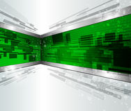 Abstract background dynamic 3D Royalty Free Stock Photography