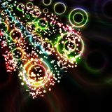 Abstract background, dynamic element. Abstract background, colorful lights bubble, dynamic element Royalty Free Stock Photos