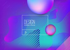 Abstract background with dynamic shape composition. Design element for poster, card, flyer,presentation, brochures,cover. Vector illustrations Royalty Free Stock Images